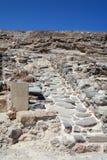 Lane in ruins of Tripitos, Crete Stock Photo