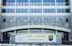 Lane Stadium Stock Afbeelding