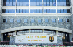 Lane Stadium stock image