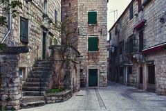 Lane in Stari Grad Stock Photos
