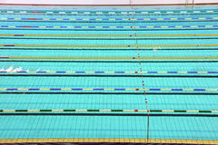 Lane of swimming pool Stock Images