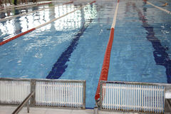 Lane in the swimming pool Royalty Free Stock Images