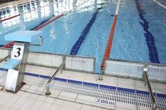Lane in the swimming pool Stock Photo