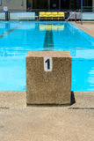Lane swimming pool Royalty Free Stock Image