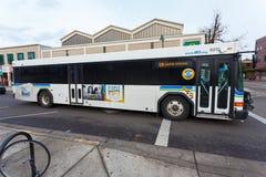 Lane Transit District LTD Public Transportation Bus Stock Image
