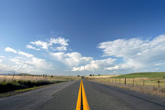 lane, wiejskie drogowych 2 Obraz Royalty Free