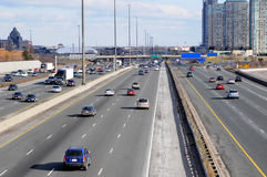 lane wielo- highway obraz stock