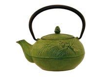 lanego żelaza teapot Zdjęcia Stock