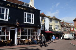 The Lanes district, Brighton, UK Stock Photography
