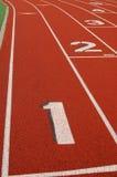 Lanes på spring spårar Fotografering för Bildbyråer