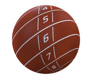 Lanes on sphere Stock Images