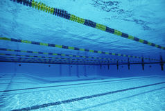 Lanes In Swimming Pool Royalty Free Stock Images