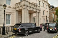 The Lanesborough Hotel London Royalty Free Stock Photo