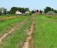 Laneway to old homestead. Stock Images