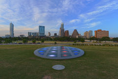 Lang Centrum en Austin Texas Stock Foto