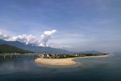 lang co пляжа Стоковое Изображение RF