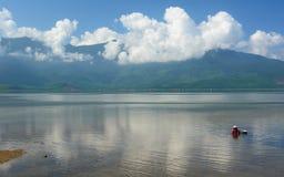 Lang Co lagoon. Thừa Thiên Huế Province, Bắc Trung Bộ. Vietnam Royalty Free Stock Photography