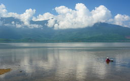 "Lang Co-Lagune Thá"" ""eine Thiên- Huế Provinz, ™ Bắc Trung Bá"" vietnam Lizenzfreie Stockfotografie"