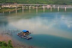 Lang Co-Strand von Hai Van-Durchlauf, Farbe, Vietnam Stockfotos