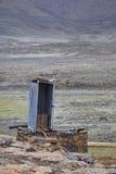Lang Dalingstoilet, Lesotho Royalty-vrije Stock Afbeelding