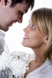 Lang-erwartete Datierung Stockfoto
