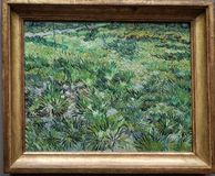 Lang gras met vlinders, door Vincent Van Gogh royalty-vrije stock foto