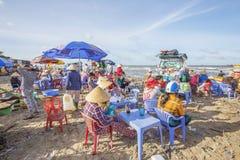 Lang Hai-strand Royalty-vrije Stock Foto's