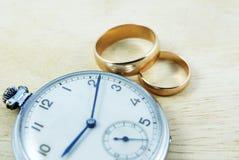 Lang huwelijk stock fotografie