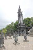 Lang khai dinh tomb in Hue, Vietnam Stock Photography