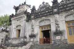 Lang khai dinh tomb in Hue, Vietnam Stock Photos