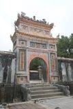 Lang khai dinh tomb in Hue, Vietnam Stock Image
