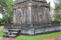 Lang khai dinh tomb in Hue, Vietnam Royalty Free Stock Photography