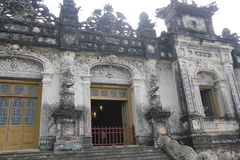 Lang khai dinh tomb in Hue, Vietnam Royalty Free Stock Images