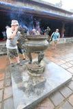 Lang khai dinh tomb in Hue, Vietnam Stock Photo