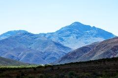 Lang Kloof Mountains South Africa. Lang Kloof Mountains Western Cape South Africa Royalty Free Stock Photos