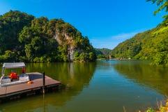 Lang Mountain recreational park. This park located near ipoh, perak, malaysia Stock Photos