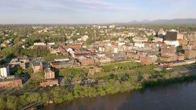 Lang Panorama Charleston West Virginia Capitol City stock videobeelden
