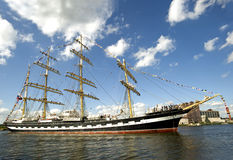 Lang schip Royalty-vrije Stock Fotografie