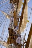 Lang schip royalty-vrije stock afbeelding