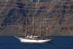 Lang schip Royalty-vrije Stock Afbeeldingen
