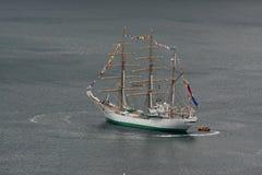 Lang schip Stock Foto's