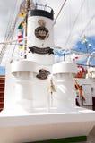 Lang Schip Cuauhtemoc in Santa Cruz de Tenerife Royalty-vrije Stock Afbeeldingen