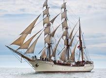 Lang schip Europa. Royalty-vrije Stock Afbeeldingen