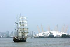 Lang schip Thalassa Stock Afbeeldingen