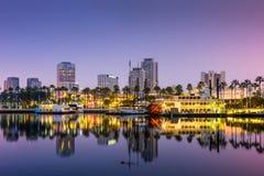 Lang Strand Californië Stock Afbeeldingen