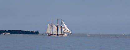 Lang varend schip Stock Fotografie