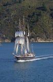 Lang Varend Schip Royalty-vrije Stock Afbeeldingen