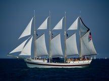Lang Winderig Schip stock fotografie