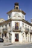 Langa de Duero stadshus, Spanien Royaltyfri Foto