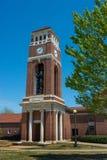 Langa det Klocka tornet på universitetet av Mississippi Arkivbilder